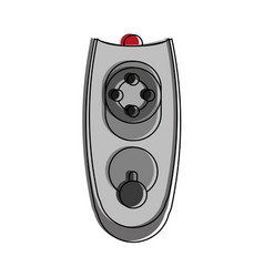 remote control technology vector image
