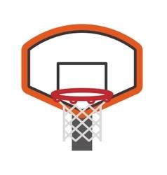 Basket icon basketball design graphic vector