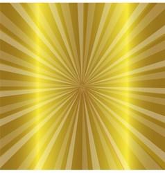 Burst stars descending on a path of golden light vector