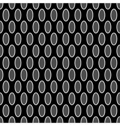 Oval geometric seamless pattern 6310 vector image