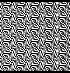 Pattern grid mosaic spiral triangle seamless vector
