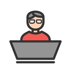 Software developer vector