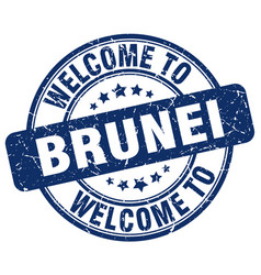 Welcome to brunei vector