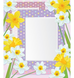Frames flowers vector