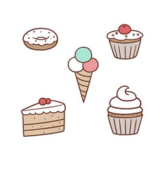 Confection pack vector