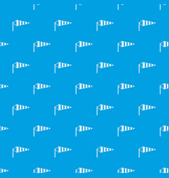 Windsock pattern seamless blue vector
