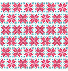 Christmas nordic seamless pattern vector