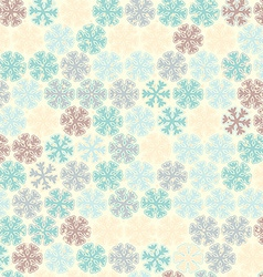 Christmas pattern in light pastel colors vector