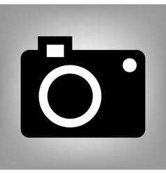 Digital camera sign vector