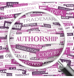 Authorship vector