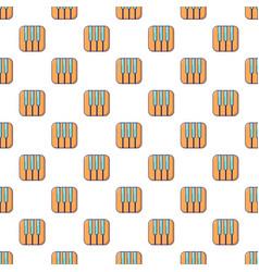 Piano keys pattern seamless vector