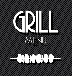 Grill menu2 vector