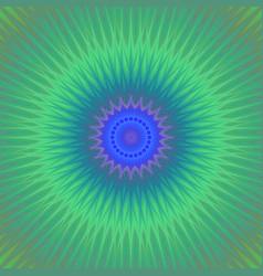 Abstract bohemian mandala star ornament vector