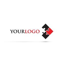 Jigsaw logo vector