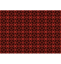 Vintage abstract geometric classic pattern vector