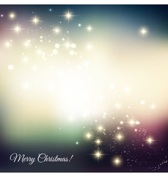Abstract christmas light background vector