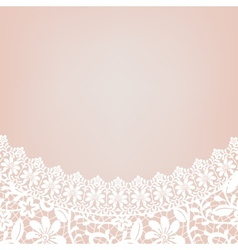 Lace bridal dress vector