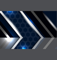 Abstract navy blue background vector