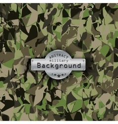 Camouflage military pattern background vector