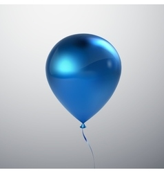 Realistic glossy balloon vector