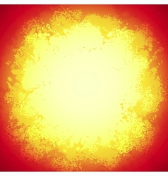 Red bright grunge colorful explode vector