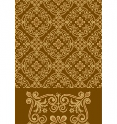 antique seamless pattern vector image