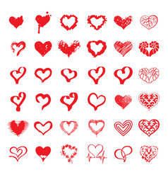 Heart logo vector