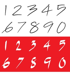 Number vector image vector image