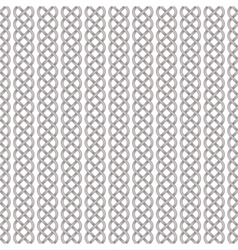 Seamless pattern of celtic braids vector