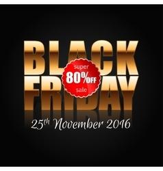 Black Friday 5 vector image