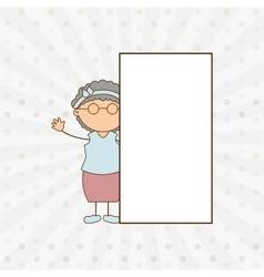 Happy grandparent design vector