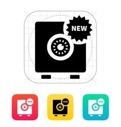 New strongbox icon vector image