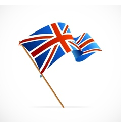 Flag of uk vector