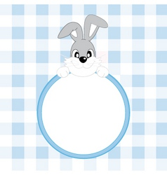 frame rabbit vector image vector image