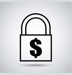 money sign design vector image