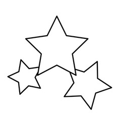 Stars icon favorite business internet trendy vector