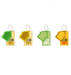discount house vector image