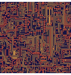 Electric circuit pattern vector
