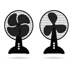Fan icon ventilation vector