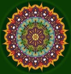 Mandala Sun vector image