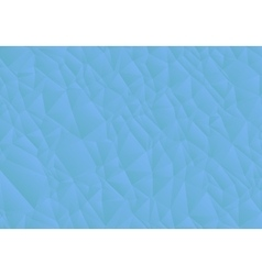 Abstract blue background consisting of triangles vector