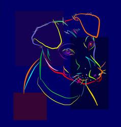 Dog 4 vector
