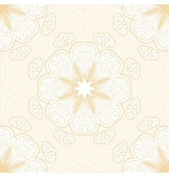 Hand drawn lace seamless pattern vector