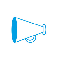 megaphone icon image vector image vector image