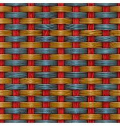 basket texture vector image