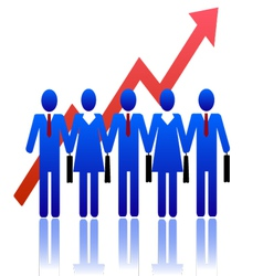 Business-people-community vector image vector image