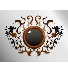 Circle sign design vector image