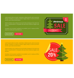 Hot prices christmas sale 20 buy now posters vector