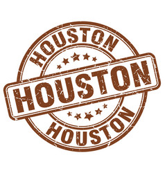 Houston stamp vector