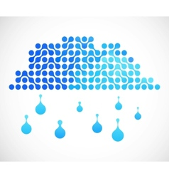 internet cloud image vector image